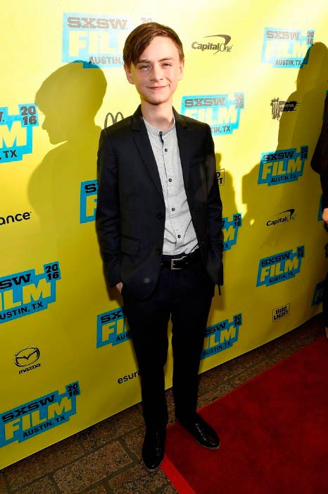 Jaeden Lieberher at the screening of Midnight Special during the 2016 SXSW Music, Film + Interactive Festival