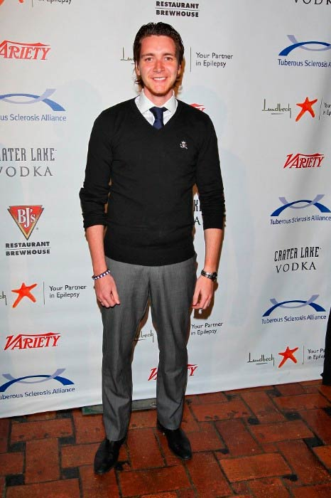 James Phelps at the 11th Annual Comedy for a Cure event in Los Angeles in March 2012