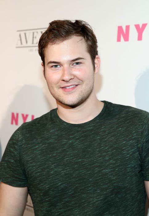 Justin Prentice at the NYLON Young Hollywood Party in May 2017