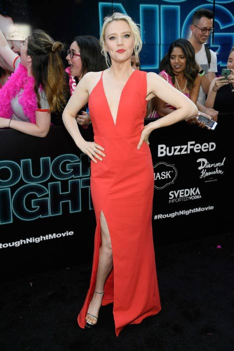 Kate McKinnon at the Rough Night premiere in June 2017
