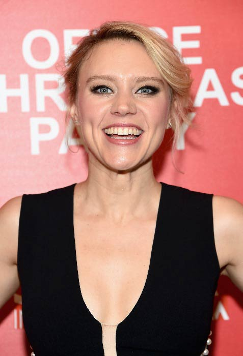 Kate McKinnon at the screening of Office Christmas Party in December 2016