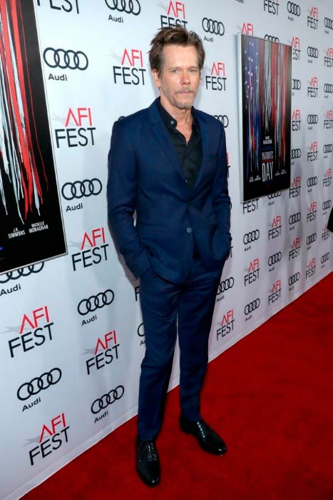 Kevin Bacon at the Audi Celebrates 'Patriot's Day' At AFI Fest in November 2016