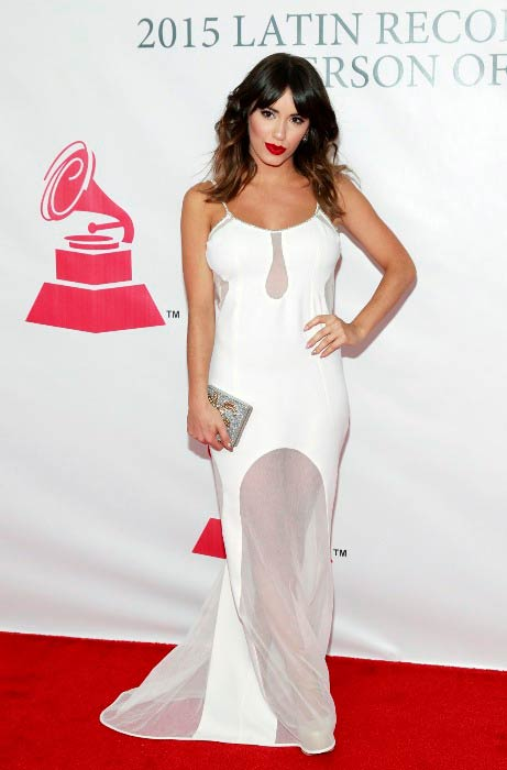 Lali Espósito at the Latin Grammy Awards in Las Vegas in November 2015