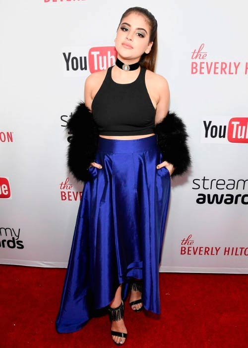 Lauren Giraldo at the 6th annual Streamy Awards in October 2016
