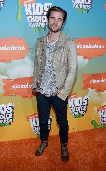 Luke Benward at the Nickelodeon's Kids' Choice Awards in March 2016