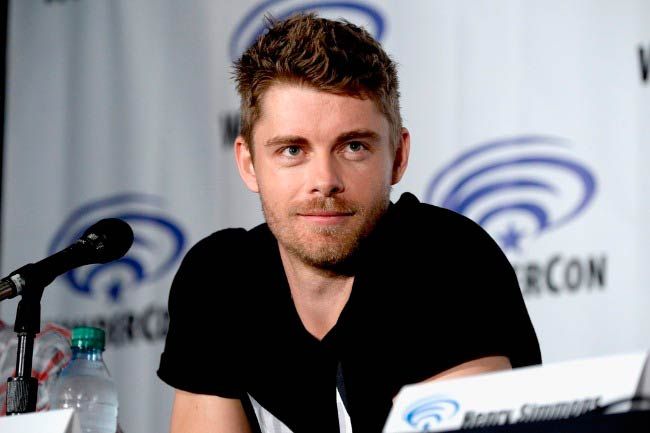 Luke Mitchell at the Marvel's Agents of S.H.I.E.L.D. panel at WonderCon in March 2016 in Los Angeles