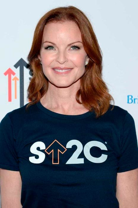 Marcia Cross at the 5th Biennial Stand Up To Cancer (SU2C) event in September 2015