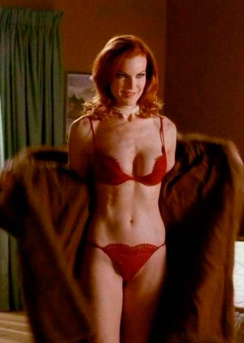 Marcia Cross in a still from TV series, Desperate Housewives
