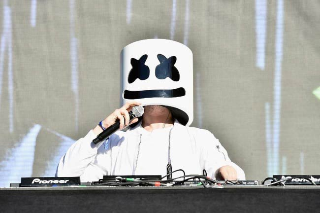 Marshmello at the Governors Ball Music Festival in June 2017 in New York City