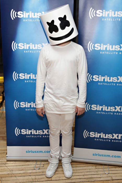 Marshmello at the SiriusXM Satellite Event in November 2016
