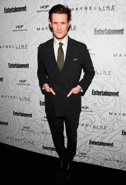 Matt Smith at the Entertainment Weekly Celebration of SAG Award Nominees in January 2017 in Los Angeles