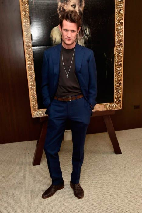"Matt Smith at the Screen Gem's ""Pride and Prejudice and Zombies"" photo call in West Hollywood in January 2016"
