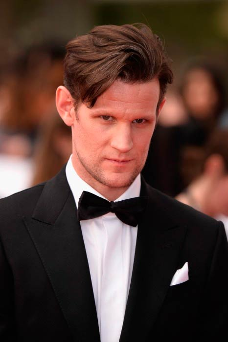 Matt Smith at the Virgin TV BAFTA Television Awards in May 2017