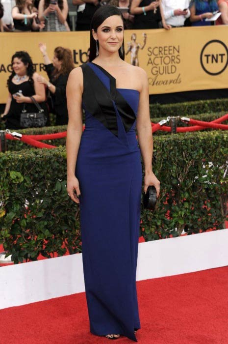 Melissa Fumero at the 2015 Screen Actors Guild Awards