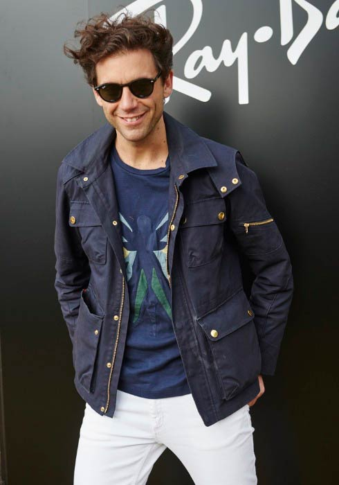 Mika at the Ray-Ban Rooms at Barclaycard Presents British Summer Time in June 2015
