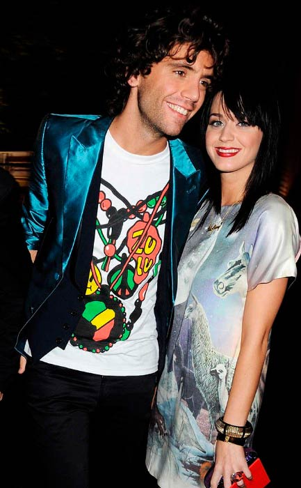 Mika and Katy Perry at The Serpentine Gallery Summer Party in September 2008