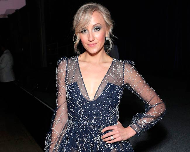 Nastia Liukin at an event hosted by the Christopher & Dana Reeve Foundation in NYC in November 2017