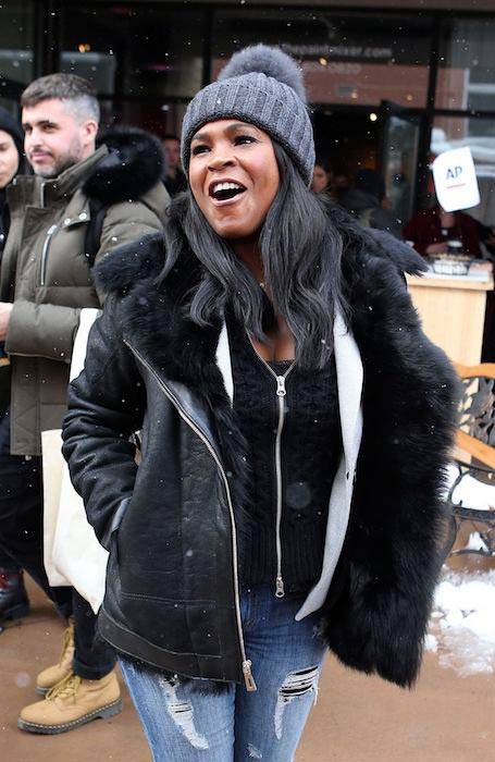 Nia Long in Park City Utah on January 21, 2017