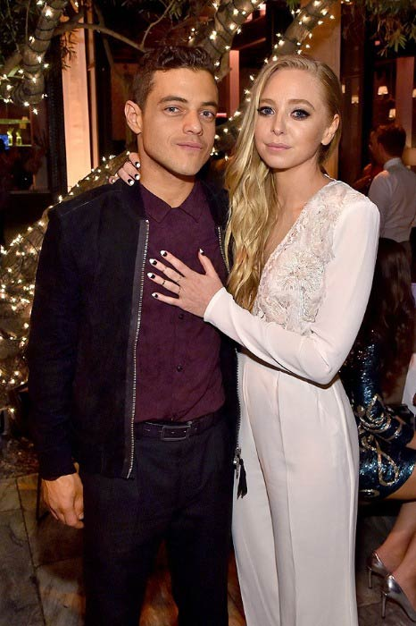 Portia Doubleday and Rami Malek at the People's Ones To Watch Event in September 2015