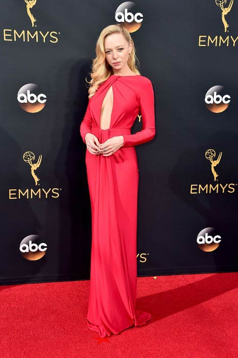 Portia Doubleday at the 68th Annual Primetime Emmy Awards in September 2016
