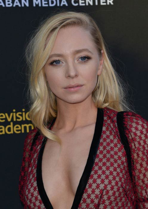 Portia Doubleday at the Television Academy's 70th Anniversary Gala in June 2016