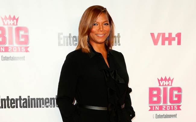 Queen Latifah during VH1 Big event with Entertainment Weekly Awards in West Hollywood, California in November 2015