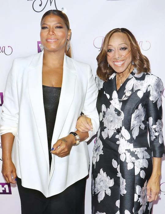 Queen Latifah with her mother, Rita Owens at VH1's Dear Mama event on May 3, 2016