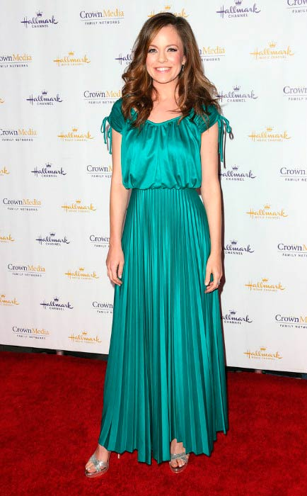 Rachel Boston at the Hallmark Movie Channel's Winter TCA Party in January 2014