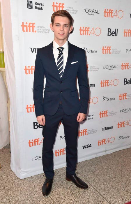 Robbie Kay at the Heroes Reborn premiere during the 2015 Toronto International Film Festival