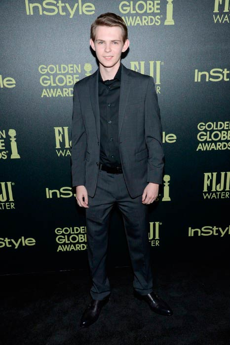 Robbie Kay at the InStyle Celebration of The 2016 Golden Globe Award Season in November 2015