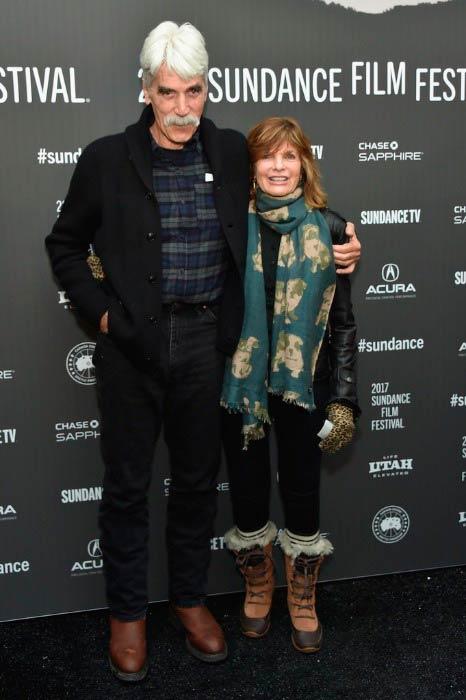 Sam Elliott and Katharine Ross at The Hero premiere at the Sundance Film Festival in January 2017