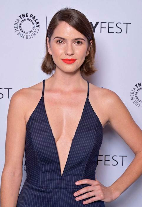 Shelley Hennig at the 32nd Annual Paleyfest organized in March 2015 in California