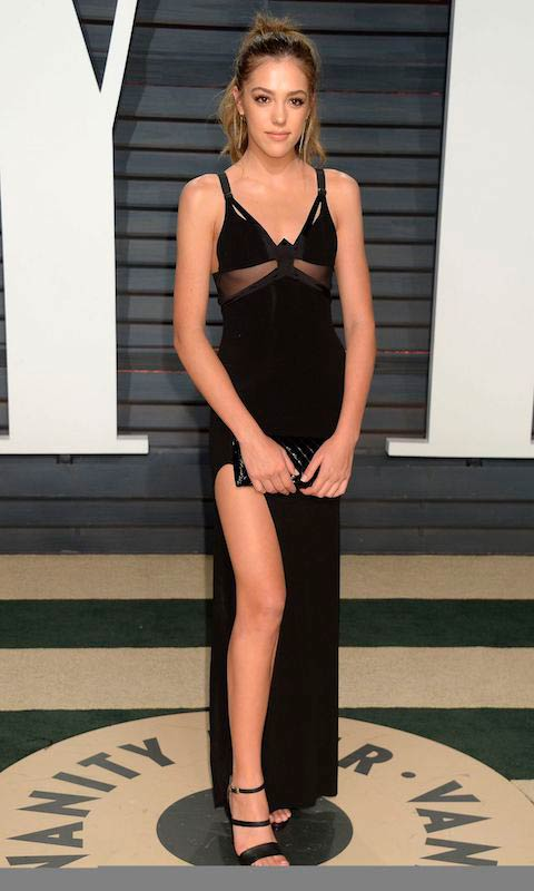 Sistine Stallone at Vanity Fair Oscar 2017 Party