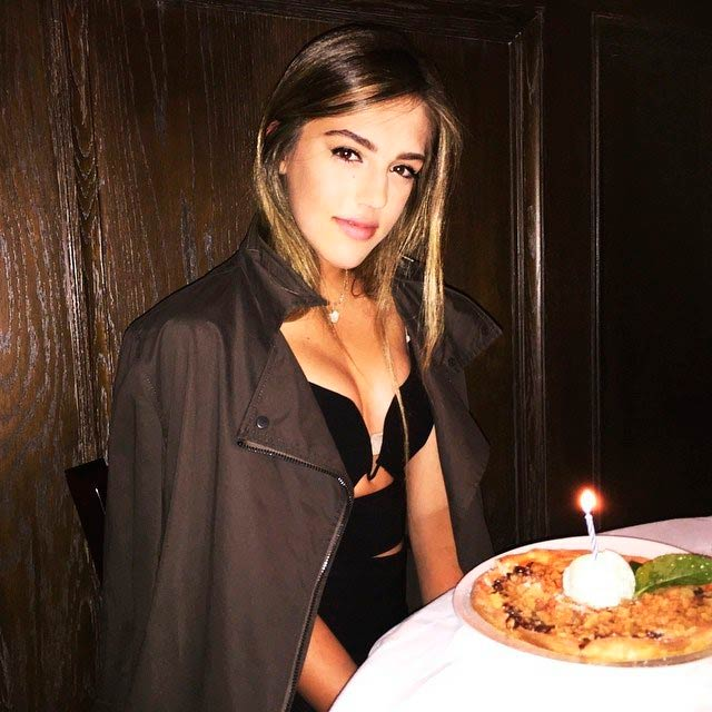 Sistine Stallone knows how to celebrate the birthdays