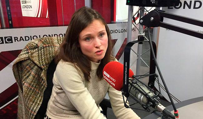 Sophie Ellis-Bextor at BBC Radio Office