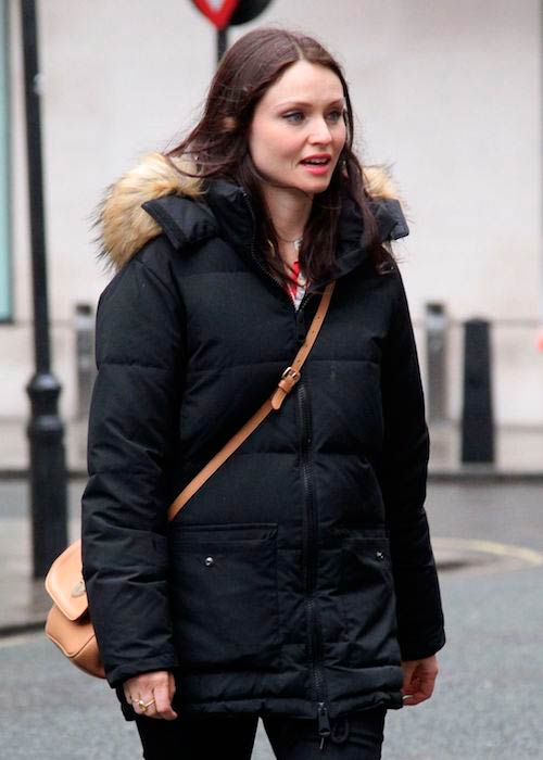 Sophie Ellis-Bextor while leaving BBC Radio 2 Studios in London July 2017