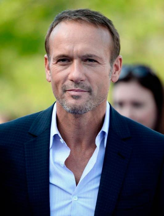 Tim McGraw at the premiere of Disney's Tomorrowland in May 2015