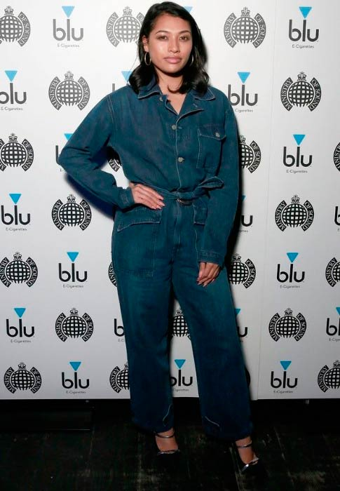 Vanessa White at the Blu And The Ministry Of Sound event in April 2017