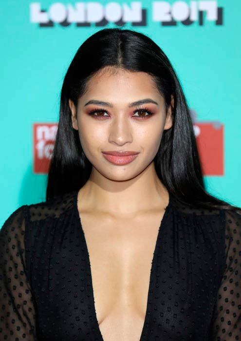 Vanessa White at The Naked Heart Foundation in February 2017