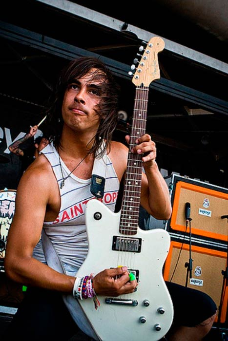 Vic Fuentes Arms Scars