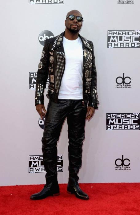 Wyclef Jean at the American Music Awards in November 2014