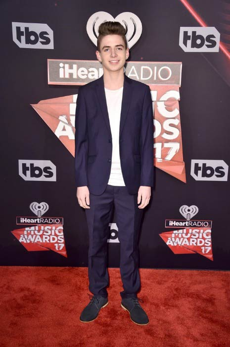 Zach Clayton at the iHeartRadio Music Awards in March 2017