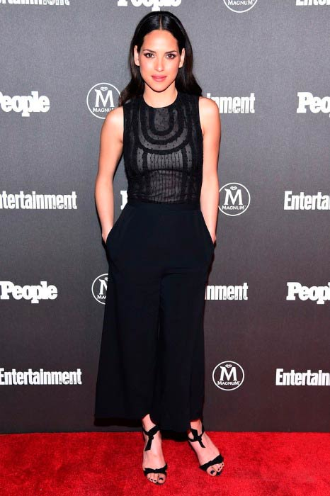 Adria Arjona at the Entertainment Weekly & People Upfronts party in May 2016