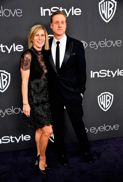 Alan Tudyk and Charissa Barton at the 18th Annual Post-Golden Globes Party in January 2017