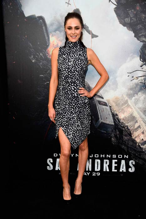 "Alexandra Park at the premiere of Warner Bros. Pictures' ""San Andreas in May 2015 in Hollywood"