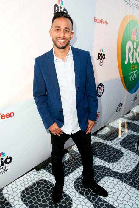 Anwar Jibawi at the NBC Olympic Social Opening Ceremony in July 2016