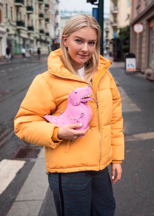 Astrid S in a picture shared on her Instagram account in August 2017