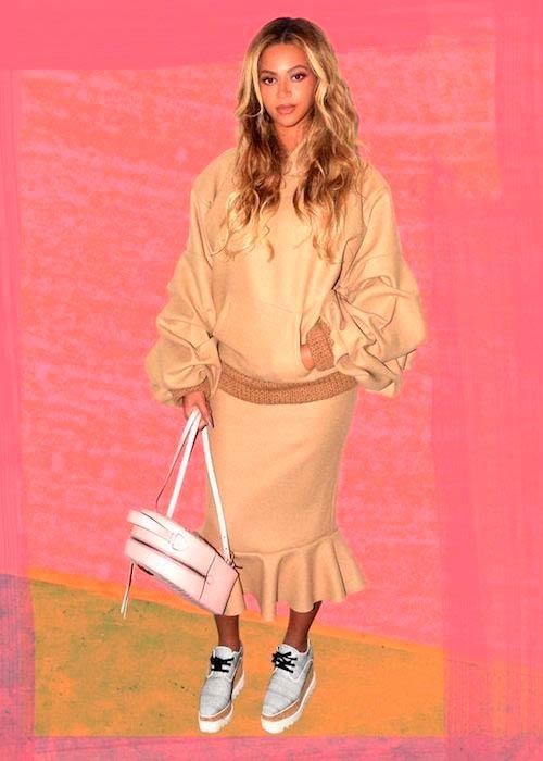 Beyoncé at FYF Festival on July 23, 2017