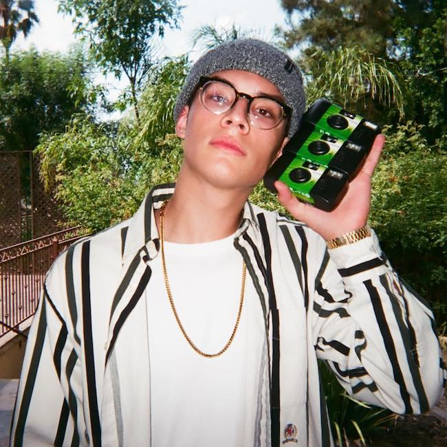 Brandon Arreaga in a picture shared on Instagram account in July 2017