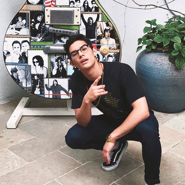 Brandon Arreaga in a picture uploaded to his Instagram in May 2017